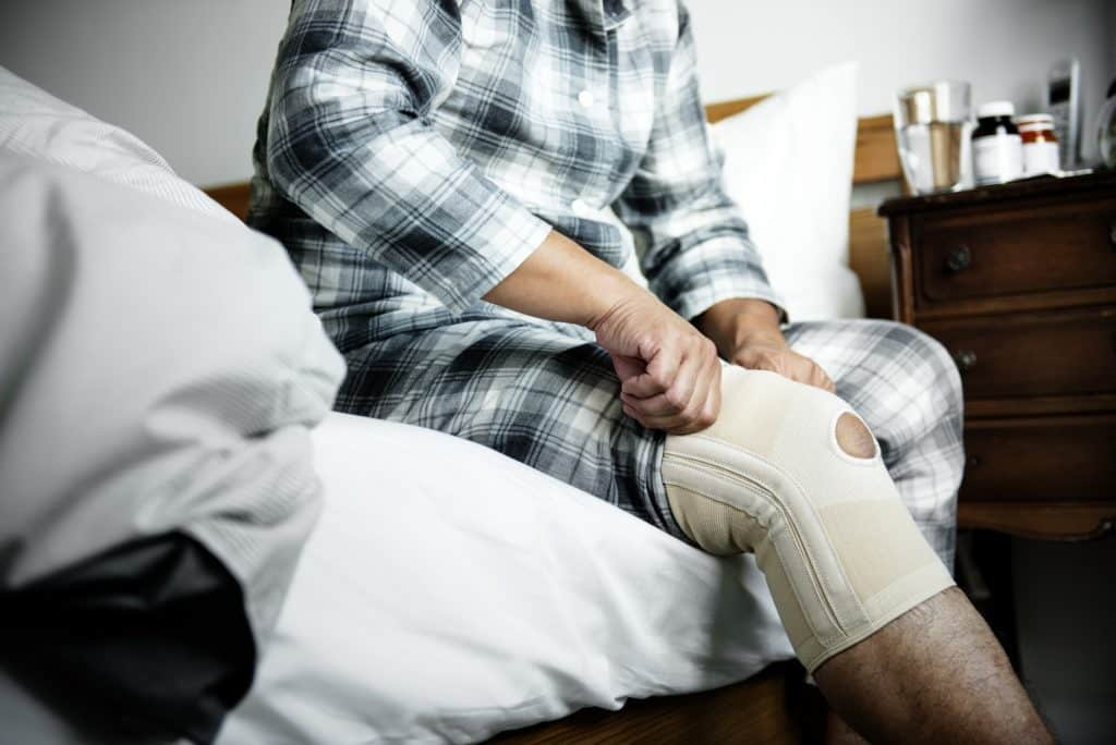Neuropathy pain caused by physical injury