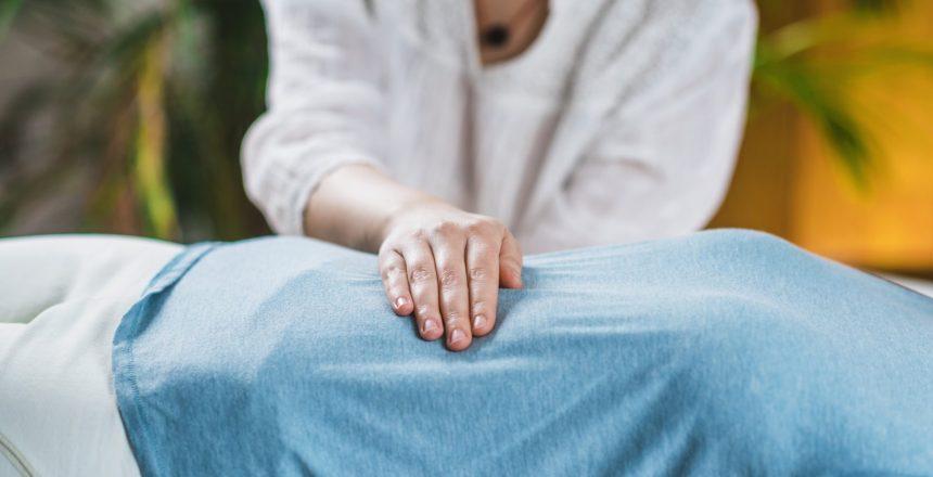 Marma Therapy. Ayurveda Stomach Treatment (Nabhi marma)